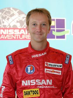 Présentation de l'équipe Nissan à Dessoude: Benoit Rousselot