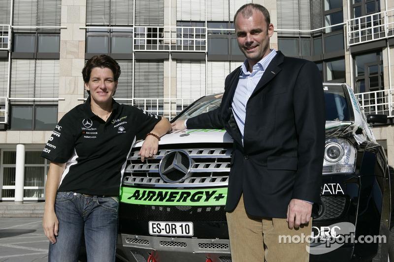 Equipe Kwikpower Mercedes-Benz : Ellen Lohr et Detlef Ruf