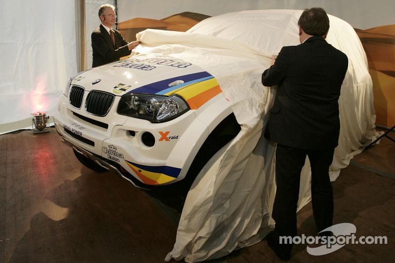 X-raid: le X-raid BMW X3 CC dévoilé