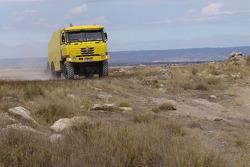 Equipe Loprais Tatra: Karel Loprais, Petr Gilar et Ales Loprais essaient la Tatra Dakar 2006 4x4