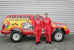 Team Nissan Dessoude public presentation: Benoit Rousselot and Sylvain Poncet