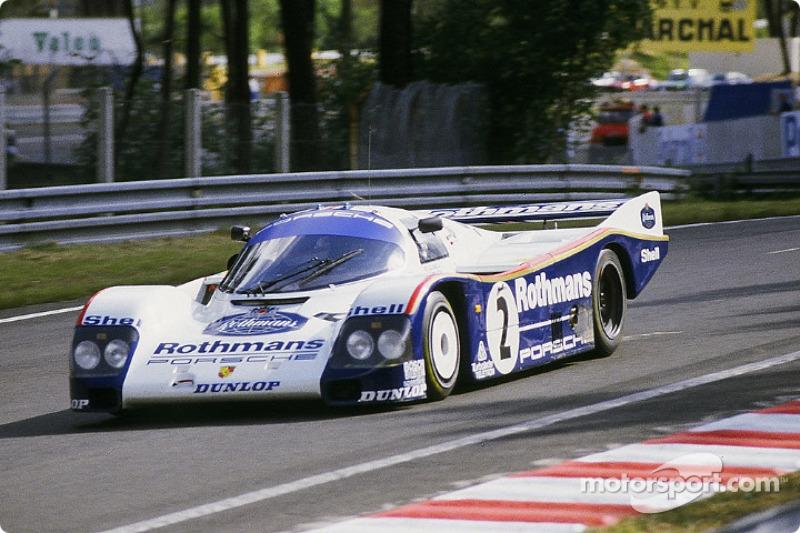 Rothmans Porsche 962C : Derek Bell, Hans Stuck