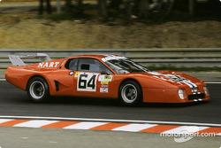 #64 North American Racing Team Ferrari 512 BB: Jean-Pierre Delaunay, Cyril Grandet, Preston Henn