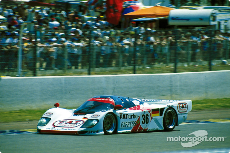1994: Yannick Dalmas, Hurley Haywood, Mauro Baldi, Dauer-Porsche 962 LM