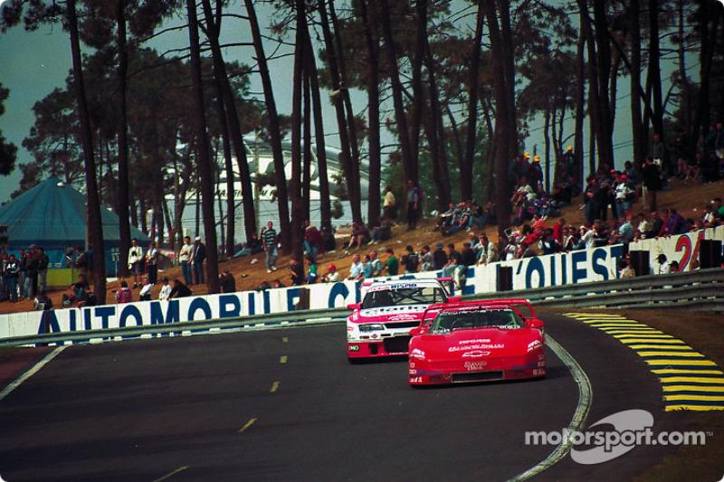 1995 год. Экипаж Джона Пола-младшего, Криса Макдугалла и Джеймса Меро, Chevrolet Corvette ZR-1