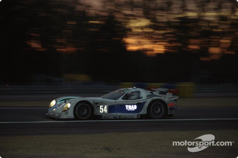 #54 David Price Racing Panoz GTR1: Andy Wallace, James Weaver, Butch Leitzinger