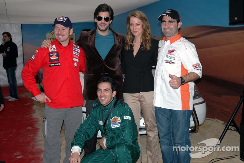 Paulo Marques et Paulo Goncalves avec amis