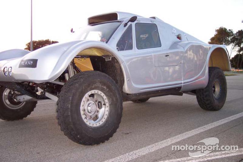 Vanguard Racing test en France: la voiture 2006 Vanguard Racing Rally