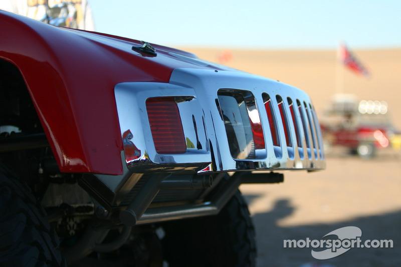 Team Gordon: détail de la Hummer H3 Race Truck