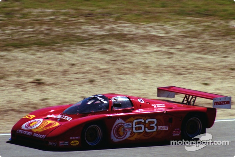 #63 Downing Argo JM-19B Mazda: Jim Downing