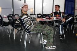 Vitantonio Liuzzi and David Coulthard