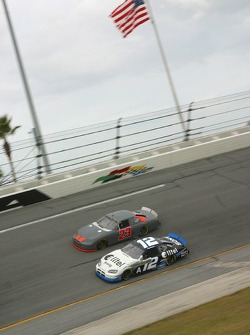 Ryan Newman and Mike Skinner