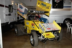 Joe Harz's #88 Super Sprint.  Fred Rahmer drove this car to track championships at Lincoln and Williams Grove in 2005.