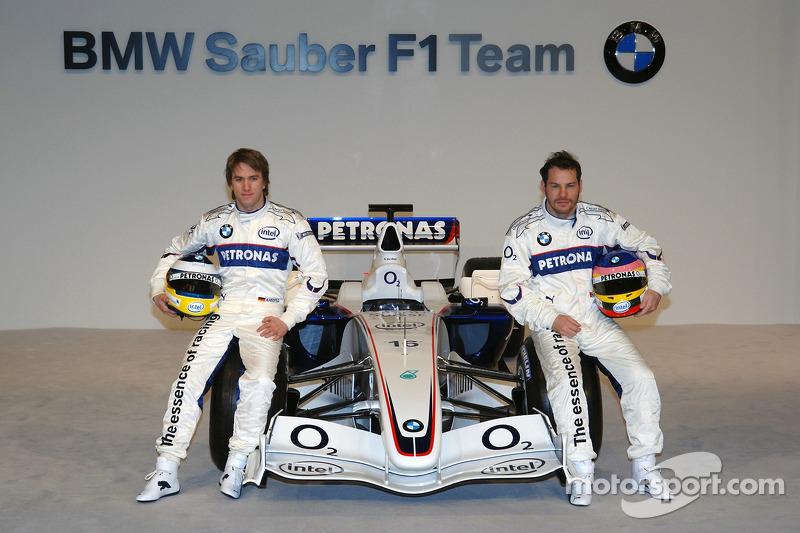 Нік Хайдфельд, Жак Вільньов і BMW Sauber F1.06