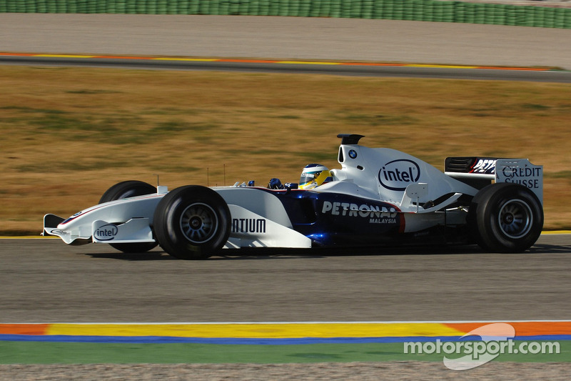 2006: Nick Heidfeld, BMW Sauber F1.06