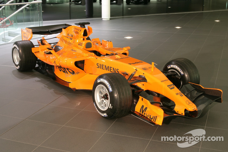 2006: McLaren MP4-21 (Testdesign bei Präsentation)