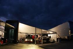 Team PTG paddock area