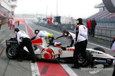 Lanzamiento del Honda Racing RA106