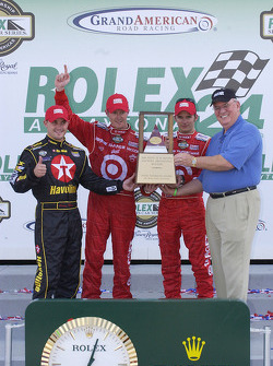 Rolex 24 at Daytona overall winners: Dan Wheldon, Scott Dixon, Casey Mears