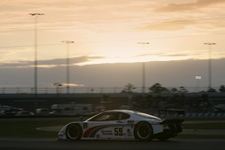 #59 Brumos Racing Porsche Fabcar: Hurley Haywood, JC France, Ted Christopher, Joao Barbosa