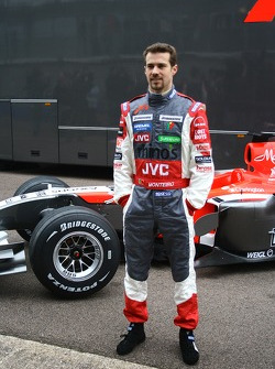 Tiago Monteiro with the new MF1 Racing M16