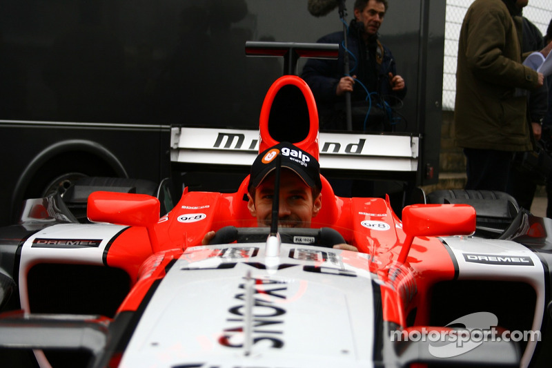 Tiago Monteiro in the new MF1 Racing M16