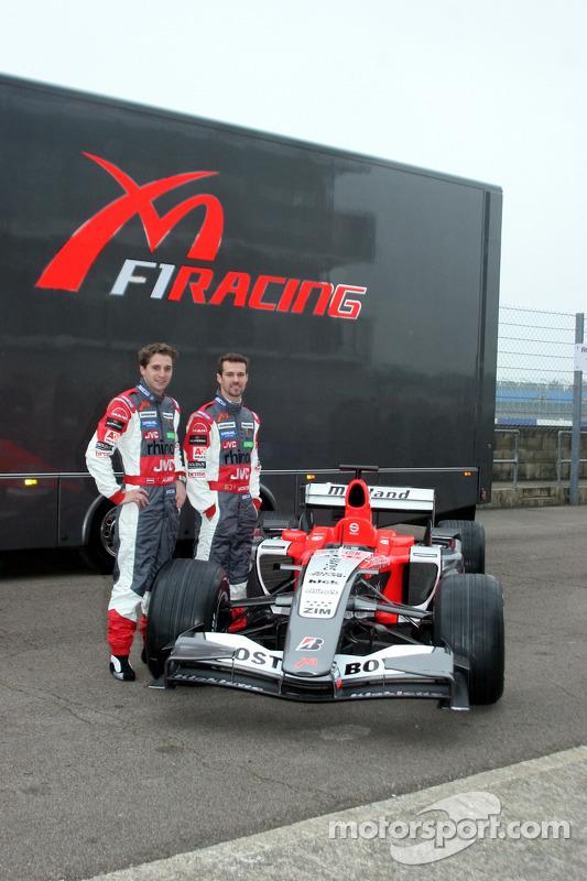 Christijan Albers, Tiago Monteiro et la Midland MF1 Toyota M16