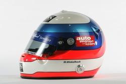 Helmet of Markus Winkelhock