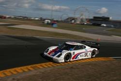 #59 Brumos Racing Porsche Fabcar: Hurley Haywood, JC France, Ted Christopher, Joao Barbosa