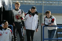 Jenson Button et Anthony Davidson