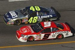 Kasey Kahne and Jimmie Johnson