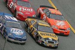 Kurt Busch, Matt Kenseth, Tony Stewart and Dale Earnhardt Jr.