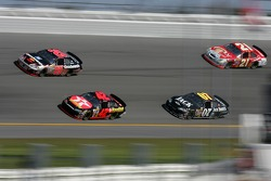 Kevin Harvick, Casey Mears, Clint Bowyer and Ken Schrader