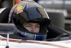 Jon Fogarty prepares to test the new Atlantic car