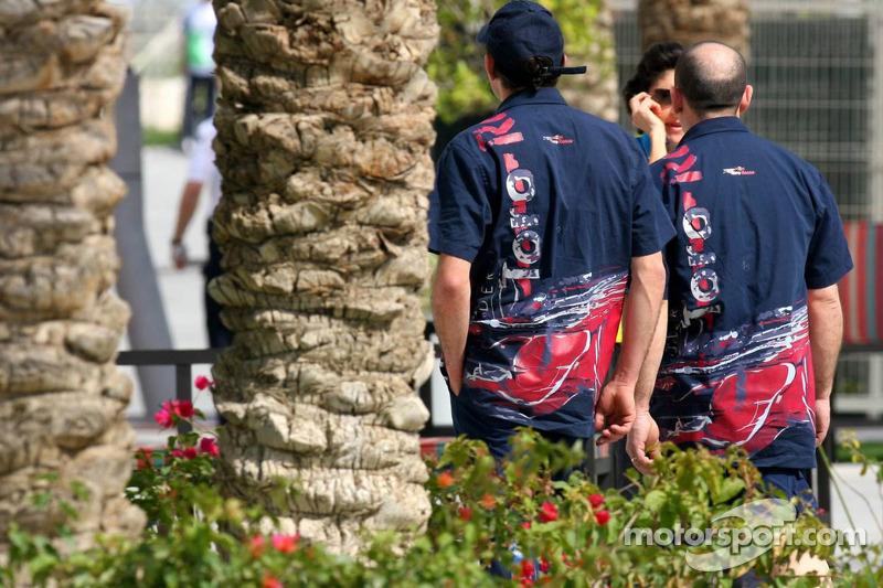 Scuderia Toro Rosso team members