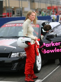 Pro celebrity race: Emma Parker Bowles