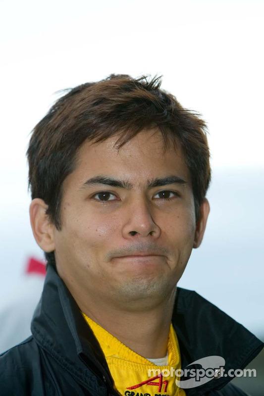Le pilote de l'équipe de Malaisie Alex Yoong