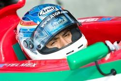 Le pilote de l'équipe mexicaine Salvador Duran