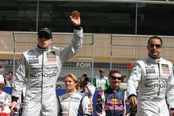 Drivers presentation: Kimi Raikkonen and Juan Pablo Montoya