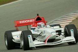 Team Indoesia driver Ananda Mikola