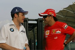 Jacques Villeneuve and Felipe Massa