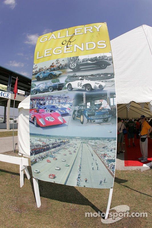 La galerie des légendes à Sebring