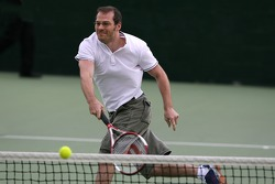 Pitstop tennis Pro-Am charity event: Jacques Villeneuve