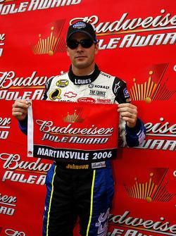 Pole winner Jimmie Johnson