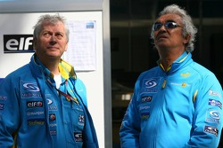Pat Symonds and Flavio Briatore