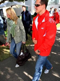 Michael Schumacher and wife Corina