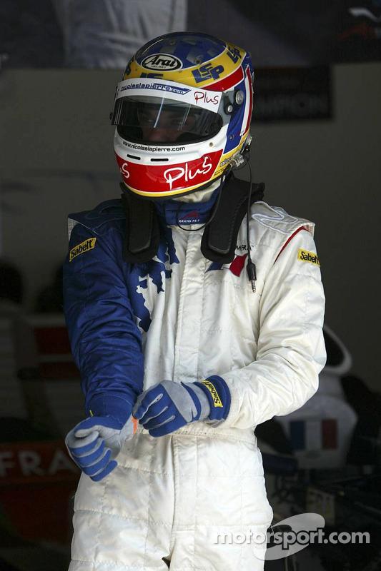 Nicolas Lapierre (FRA), A1 team France