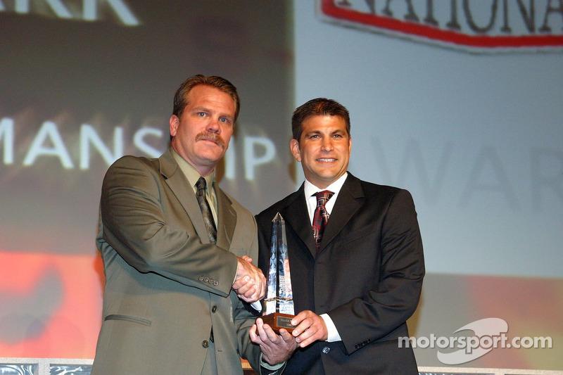 David Starr remporte l'award de l'homme sportif
