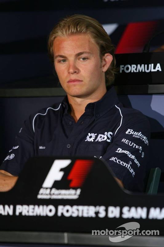 Conférence de presse de la FIA: Nico Rosberg