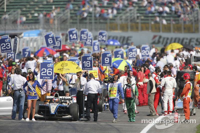 Gianmaria Bruni en pole position